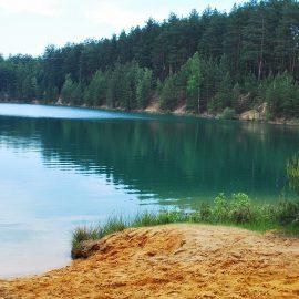 Наши Голубые озера