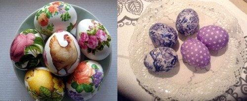 яйца - декупаж21
